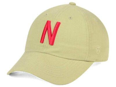 size 40 987c4 7b0c9 Nebraska Cornhuskers Top of the World NCAA Main Strapback Cap Hat