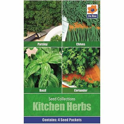 De Ree Seeds Collections Variety Seeds Kitchen Herbs