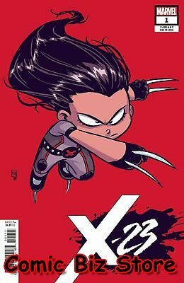 X-23 #1 (2018) 1St Printing Skottie Young Baby Variant Cover Marvel ($4.99)