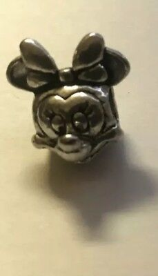 Genuine Pandora Charm Sterling Silver DISNEY Minnie Mouse  *VALENTINES DAY*