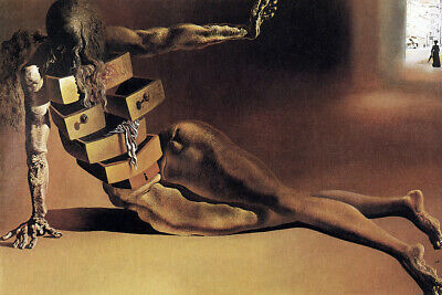Salvador Dali, The Anthropomorphic Cabinet, 1936- CANVAS OR PRINT WALL ART