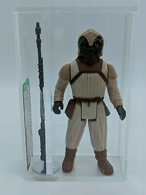 Star Wars Vintage Kenner 1983 Klaatu Skiff Guard - No COO AFA 80