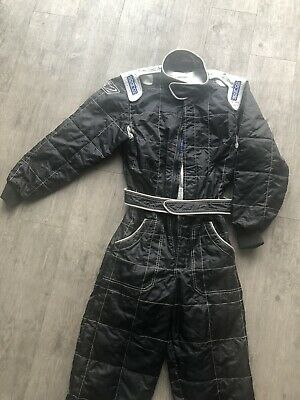 Kids Sparco Karting Overalls