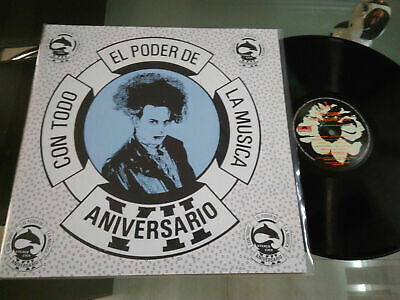 The Cure-Disintegration-LP Mexico Promo Radio  ESTEREO CIEN Unique PS Polygram