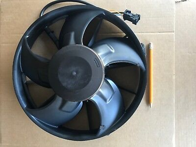EBM PAPST Radiator Fan, Axial 300mm Round 16-32 VDC - W3G300-EQ Series NEW