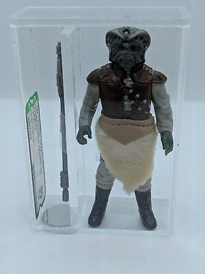 Star Wars Vintage Kenner 1983 Klaatu - Grey Limbs - HK AFA 80
