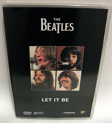 The Beatles - LET IT BE - DVD New