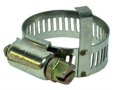 A/C Refrigerant Hose Clamp Fitting #10 #12 (1 Pack of 10 units) HC-1002