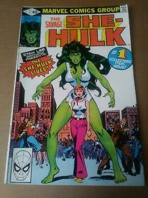 The Savage She-Hulk #1 (Feb 1980, Marvel) No reserve