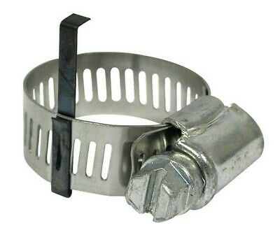 A/C Refrigerant Hose Clamp Fitting #06 #08 (1 Pack of 10 units) HC-1001