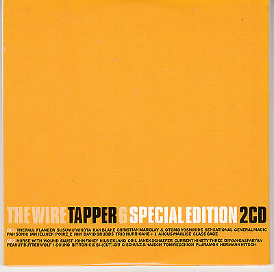 THE WIRE TAPPER 6 - Nurse With Wound Coil Current 93 Janek Schaefer Tom Recchion