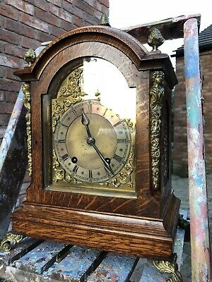 Superb Large Antique Bracket Clock Winterhalder & Hofmeier