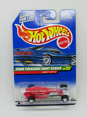 Hot Wheels 2000 Treasure Hunt Series #4 of 12 Cars-Sweet 16