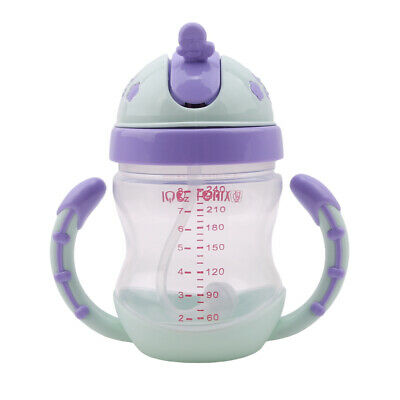 Child Sippy Cup With Handles Infant Practical Training Feeding Drinking Cup AT