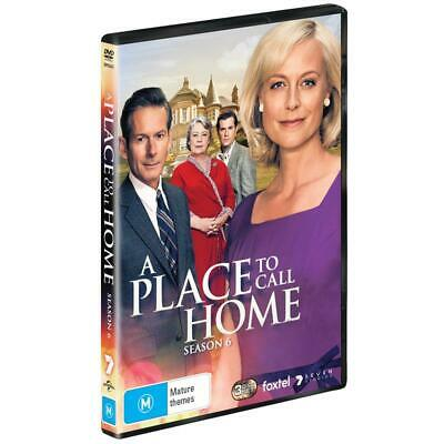 BRAND NEW A Place To Call Home : Season 6 (DVD, 2019, 3-Disc Set) *PREORDER R4