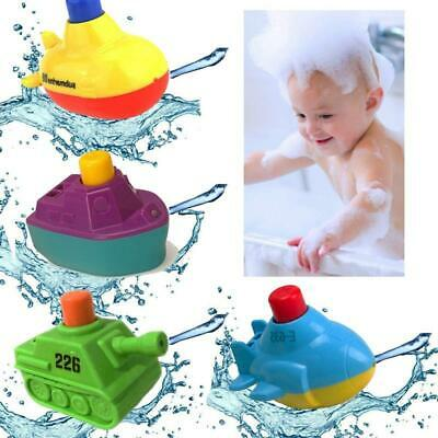 Cute Ship Model Kid Bath Toy Floating Boat for Children Toddlers Playing -Y