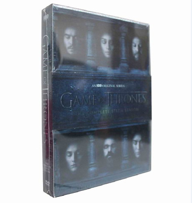 Game of Thrones:The Complete Sixth Season 6(DVD,2016,5-DVD Set)