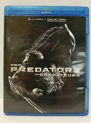 Predators: Blu-ray movie - Canadian - 2 disc set - NO SCRATCHES - with Warranty
