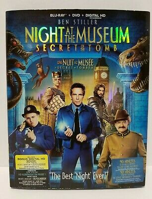 Blu-ray / DVD: Night at the Museum: Secret of the Tomb - 2 disc - CDN + warranty