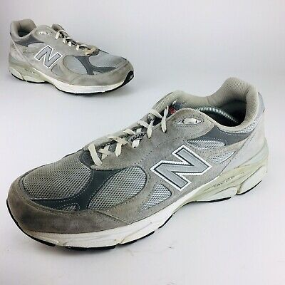 new style 1c22a 7f174 NEW BALANCE 990V3 Made In USA Running Shoes Mens Sz 13 4E Wide Training  Sneakers