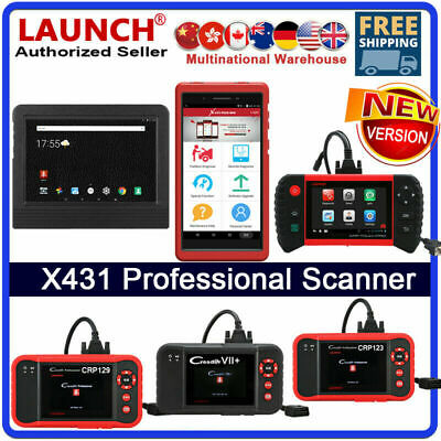 Extended Warranty Launch X431 V+ PROS PRO Auto OBD2 Engine Diagnostic Scan Tool
