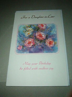 Birthday Card Daughter In Law Lovely Sentiment Same Day Shipping