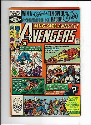 The Avengers Annual #10 ( Marvel 1981 ) 1st Rogue F/VF
