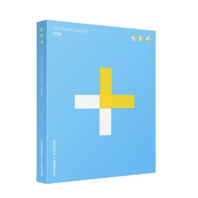 TXT - THE DREAM CHAPTER : STAR TOMORROW X TOGETHER BigHit CD + Folded Poster