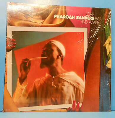 Pharoah Sanders Love Will Find A Way Lp 1978 Shrink Great Condition! Vg++/vg++!!