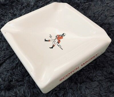 Vintage Johnnie Walker Scotch Whisky Ashtray Still Going Strong rare