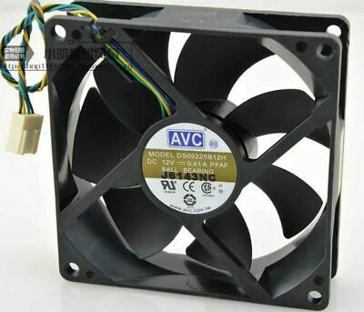 1pc AVC DS09225B12H 12V 0.41A 9CM 9025 4Pin PWM cooling FAN #M3876 QL