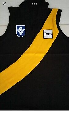 Richmond Tigers AFL/ VFL Signed 1980 Tetley Jumper