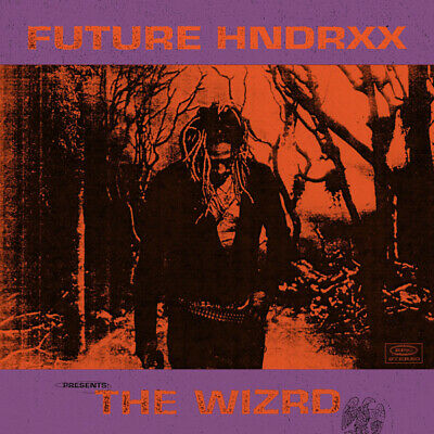 L0459 24x24'' Art Decor Future Hndrxx Presents The WIZRD Album Cover Hip Hop