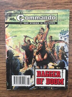 Commando - war stories in pictures-dagger of doom