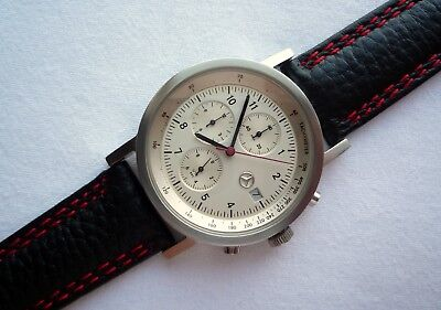 Mercedes Benz Motorsport AMG Racing Classic Sport Accessory Chronograph Watch