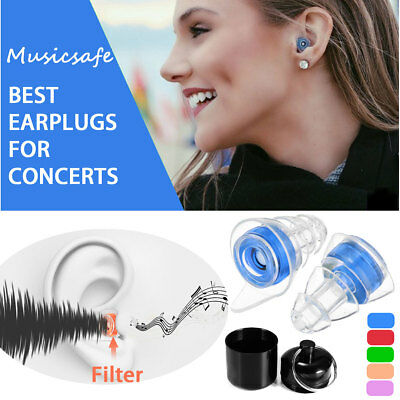 21db Ear Plugs Noise Reduction Canceling Hearing Protector Concert Music Sleep
