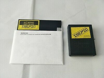 """Vintage Commodore 64 ISEPIC """"Freezer"""" Cartridge - With Software Disk - TESTED"""