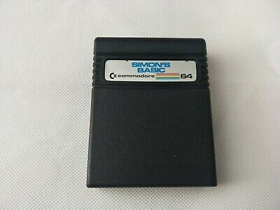 Vintage Commodore 64 - Simon's Basic Software Cartridge - TESTED AND WORKING