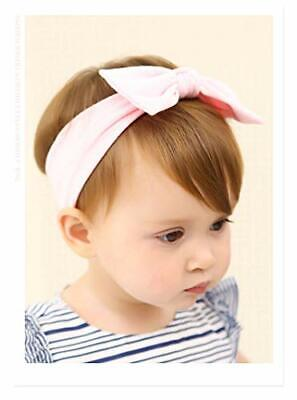 Baby Girl Cotton Bow Knot Headband for Toddler Pack of 3 Set 07