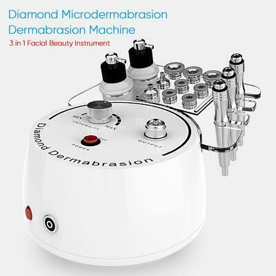 3 in 1 Diamond Microdermabrasion Dermabrasion Machine Facial Beauty Instrument