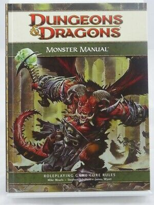 D&D - Monster Manual - (Dungeon and Dragons) 102001003