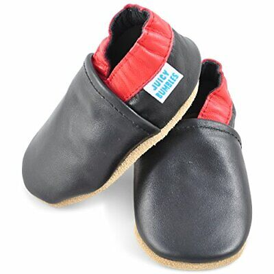 Juicy Bumbles Beautiful Soft Leather Baby Shoes with Suede Soles - Toddler Shoes