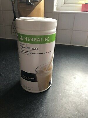 Herbalife Nutrition Formula 1 Shake Meal Replacement 550g. Cookies & Cream