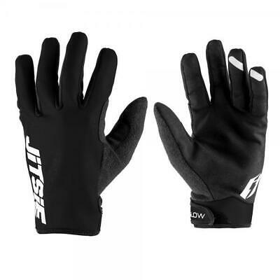 Jitsie Glow Trials Bike Riding Gloves. Black. Great Quality. Neoprene. Warm!!