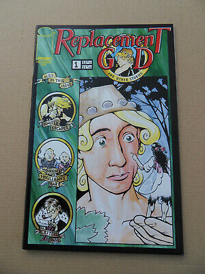 The Replacement God And Other Stories 1 . Flip Book . Image 1997 . VF - minus