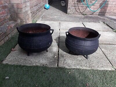 Antique cauldrons - French Cast Iron