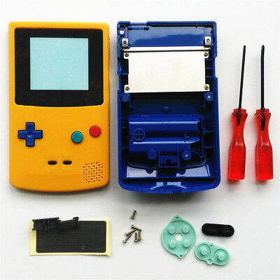 Replacement Housing Shell Case Kit For Nintendo Game Boy Color GBC Pokemon