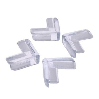 4pcs Clear Rubber Furniture Corner Edge Table Cushion Guard Protector Kids Baby