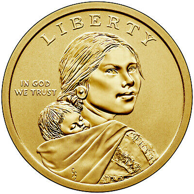 2019-P BU Native American Sacagawea Dollar
