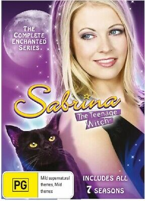 Sabrina The Teenage Witch: Complete Series - DVD Region 4